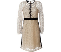A-Linien-Kleid mit floraler Spitze