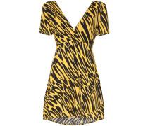 Minikleid mit Tiger-Print