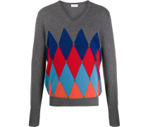 Pullover mit Arygle-Muster
