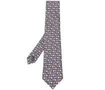 elephant and mouse print tie