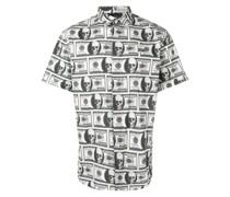 Hemd mit Dollarnoten-Print