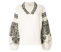 Petra embroidered blouse
