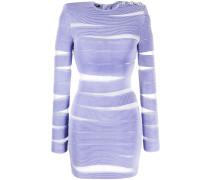 Bodycon-Kleid mit Sheer-Effekt