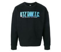 Sweatshirt mit Logostickerei