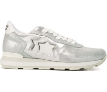 'Vega' Sneakers im Metallic-Look