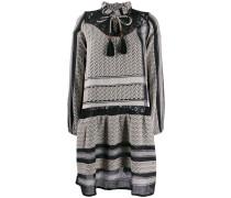 Carolyn mixed pattern dress
