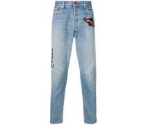 Levi's vintage patches jeans