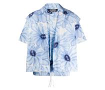 'Jean' Hemd mit Blumen-Print