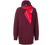 Pullover mit Schal