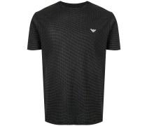 Gepunktetes T-Shirt