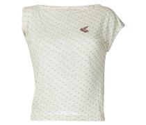 dotted single sleeve shirt