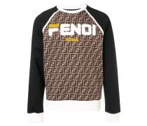 Sweatshirt mit FF-Print