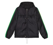 Nylon-Jacke aus GG Jacquard