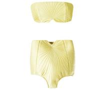 Bandeau-Bikini mit Schleifenverschluss