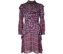 Incense and Joy chiffon high neck dress
