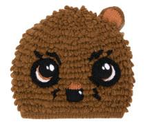 Beanie im Teddy-Design