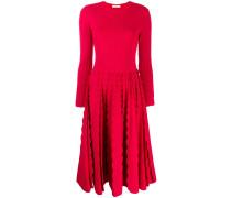 Kleid mit gewellten Borten