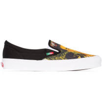 Slip-On-Sneakers mit Frida-Print