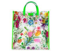 Shopper mit Flora-Print