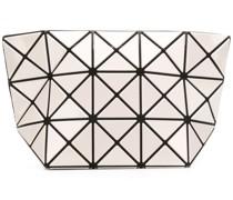 geometric clutch bag