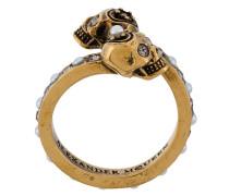 Ring mit Totenkopf-Verzierung