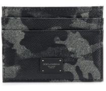 Kartenetui mit Camouflage-Muster