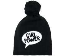 """Mütze mit """"Girl Power""""-Slogan"""