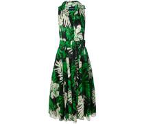 wild leaves summer dress