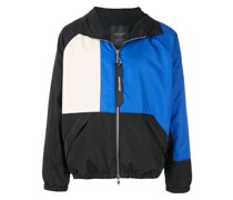Trainingsjacke in Colour-Block-Optik