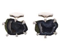 'Claw Set Geode' Manschetten aus Silber