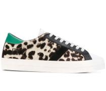 D.A.T.E. Sneakers mit Animal-Print
