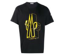 T-Shirt mit M-Logo