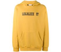 "Kapuzenpullover mit ""Legalize It""-Print"