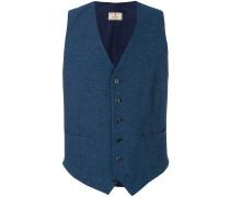 double pocket button waistcoat