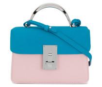 Mini Handtasche in Colour-Block-Optik