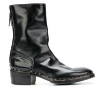 Stiefel mit niedrigem Blockabsatz