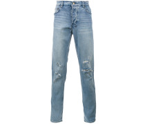 'Philly Blue' Jeans im Distressed-Look