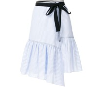 striped ribbon trim skirt