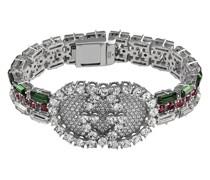Kristallverziertes Armband mit Web