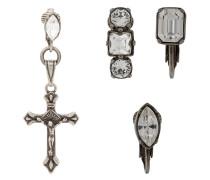 Ohrringe mit Kreuz