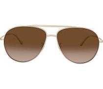 oversized aviator sunglasses