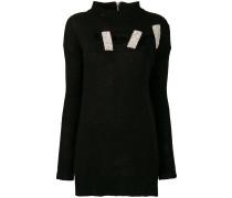 Verzierter Distressed-Pullover
