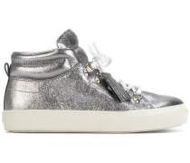 High-Top-Sneakers mit Quaste