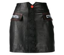 'CTNMb' Minirock aus Leder