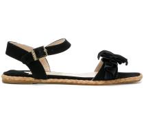 ruffle sandals
