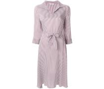Gestreiftes Kleid mit Gürtel