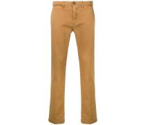 Jeans mit eingefassten Taschen
