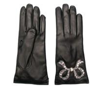 Handschuhe mit Schleife