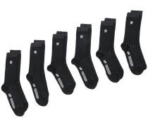 'Kelly' Socken mit Streifen