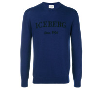cashmere logo sweater